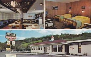 Motel Restaurant Chez Pierre Eng. , Riviere Malbaie , Charlevoix , Quebec , C...