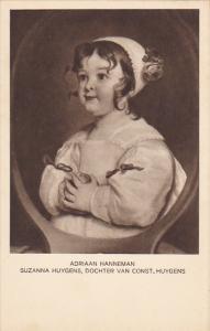 Suzanna Huygens by Adriaan Hanneman Museum Den Haag