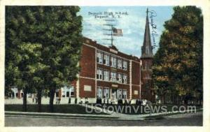 High School Deposit NY 1942
