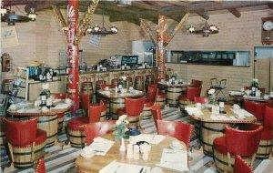 Chuck House Ranch Restaurant Grand Forks North Dakota Postcard 21-2415