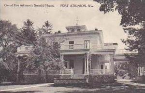Wisconsin Fort Atkinson One of Fort Atkinsons Beautiful Homes Albertype