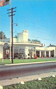 Lewiston ME Puritan Chevrolet Dealership Postcard