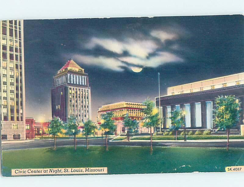 Pre-1980 BUILDING SCENE St. Louis Missouri MO H6064