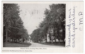 Milo, Maine, Pleasant Street, Looking West