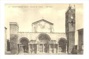 SAINT-GILLES (Gard), France, Facade de L´Eglise , 00-10s