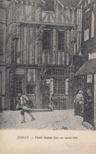 JOIGNY, France, 1910-1920s, Vieille Maison dans son ancien etat