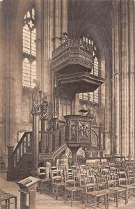 England Canterbury Cathedral The Pulpit Interior