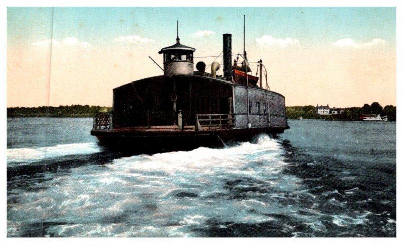 Maine Ferryboat Kittery, Atlantic Shore Line