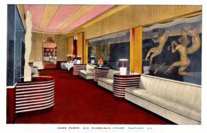 Illinois Chicago , Chez Paree Restaurant , Lobby and Foyer