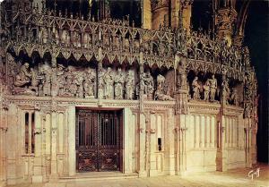 France Chartres (Eure et Loir) Cloture du Choeur de la Cathedrale