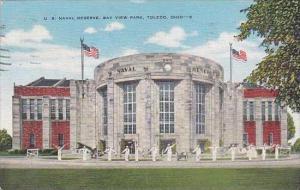 Ohio Toledo U S Naval Reserve Bay View Park 1948