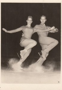 RP: Ice Skating Couple , 1940-50s