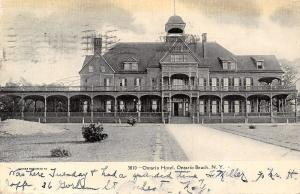 Ontario Beach NY~Ontario Hotel~Later Kenealy's At the Lake~Burned Down~1906 PC