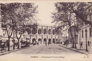 Nimes (Gard), France, 1900-1910s ; Boulevard Victor-Hugo