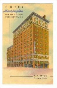 Hotel HARRINGTON, Washington, DC, 30-50s
