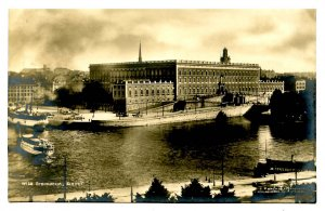Sweden - Stockholm. Royal Palace    *RPPC