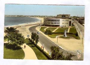 RP; Hand-Colored, Bird´s Eye View, Le Casino et la Grande Plage, Saint MAlo,...