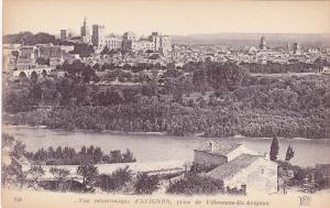 Vue Panoramique d'Avignon, Prise De Villeneuve les Avignon, AVIGNON (Vaucluse...