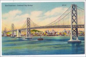 Oakland Bay Bridge, San Francisco CA