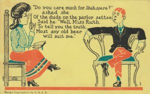 Do you care much for Shakspere? , 1901-07