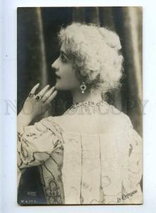 216164 CAVALIERI Italian OPERA Singer WIG Old REUTLINGER PHOTO