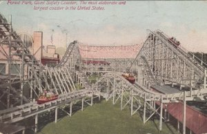 CHICAGO, Illinois, 1914 ; Forest Park , Giant Safety Coaster