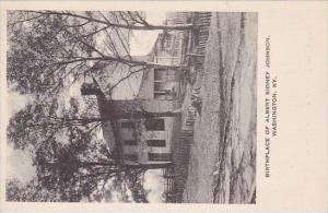 Kentucky Washington Birthplace Of Albert Sidney Johnson Albertype