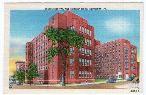 Scranton, PA, State Hospital And Nurses' Home