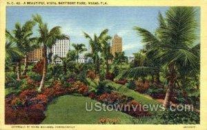 Bayfront Park - Miami, Florida FL