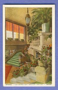 Chicago, Illinois/IL Postcard, Edgewater Beach Hotel