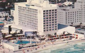 Birds Eye View, The Seville & Olympic Swimming Pool, Miami Beach, Florida 194...