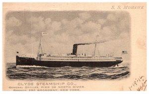 S.S. Mohawk  Clyde Steamship Co.
