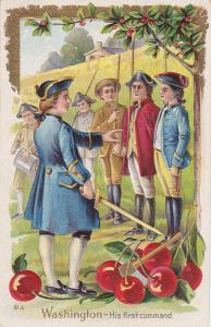 President Washington as a child , His First Command , 00-10s
