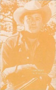 Cowboy Actor Tim Holt Vintage Arcade Card