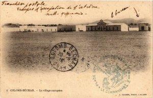 CPA AK Geiser 1 COLOMB-BÉCHAR Le Village Européen ALGERIE (757460)