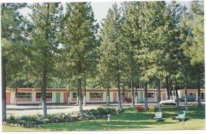 PRINCETON , B.C. , Canada , 1950-60s ; Evergreen Motel