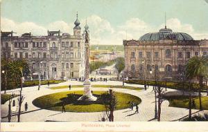 Uruguay -Montevideo, Plaza Libertad 1912