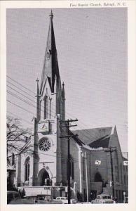 North Carolina Releigh First Baptist Church