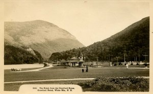 NH - Crawford Notch. View From The Crawford House circa 1907  RPPC