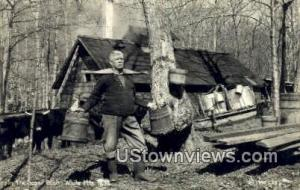 Real Photo - Sugar Bush White Mountains NH Unused