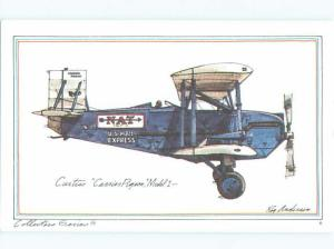 1973 Historic Airplane Series CURTIS CARRIER PIGEON AIRPLANE AC6303