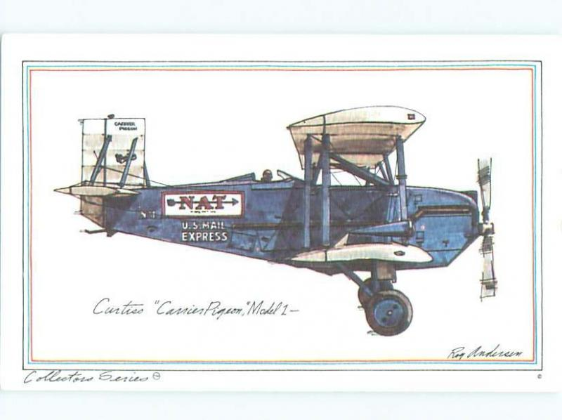 1973 Historic Airplane Series CURTIS CARRIER PIGEON AIRPLANE AC6303