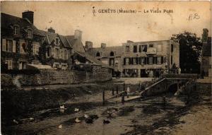 CPA  Genets - Genéts - Le Vieux Pont  (632809)