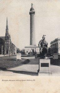 BALTIMORE , Maryland , 1901-07 ; Washington Monument