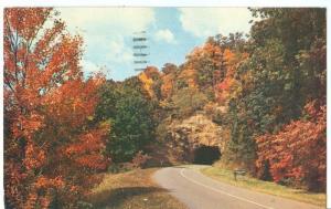 Tanbark Tunnel, Blue Ridge Parkway, North Carolina, 1959