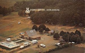 Fort Smith Arkansas 20 Acres Birdseye View Vintage Postcard K90796