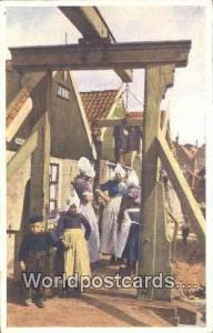Volendam Netherlands, Nederland Bij de Klapbrug  Bij de Klapbrug