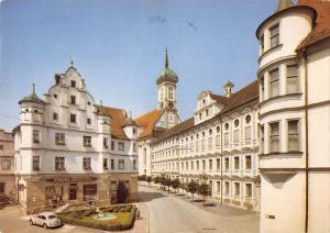 GG11946 Dillingen Donau Akademie fur Lehrerfortbildung Auto Cars Church