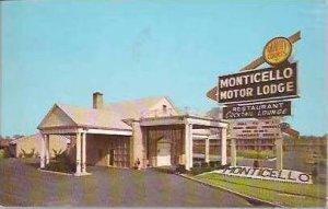 NJ Bellmawr Monticello Motor Lodge 1967
