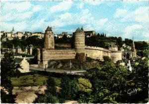 CPM Fougeres- Le Chateau et la Haute Ville FRANCE (1022618)